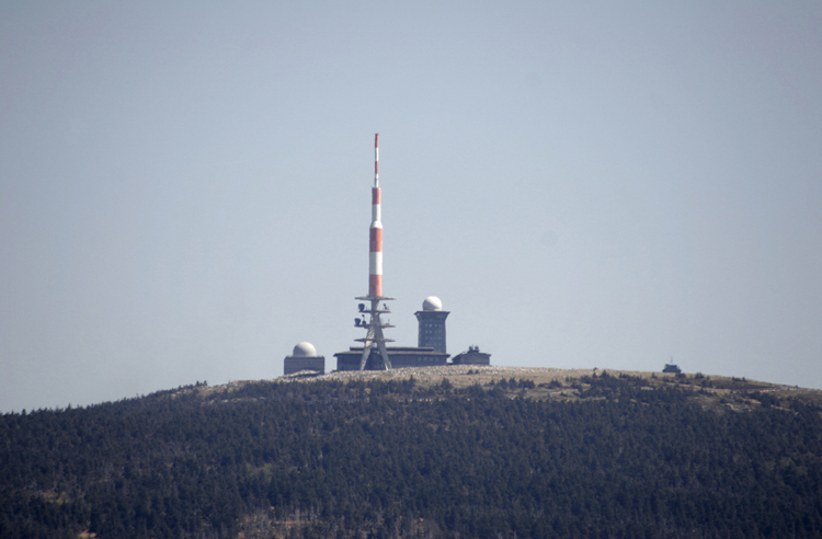 DDR Grenze Harz Brocken