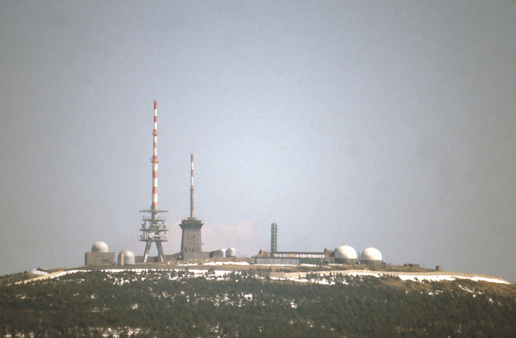 Brocken Harz DDR Grenze